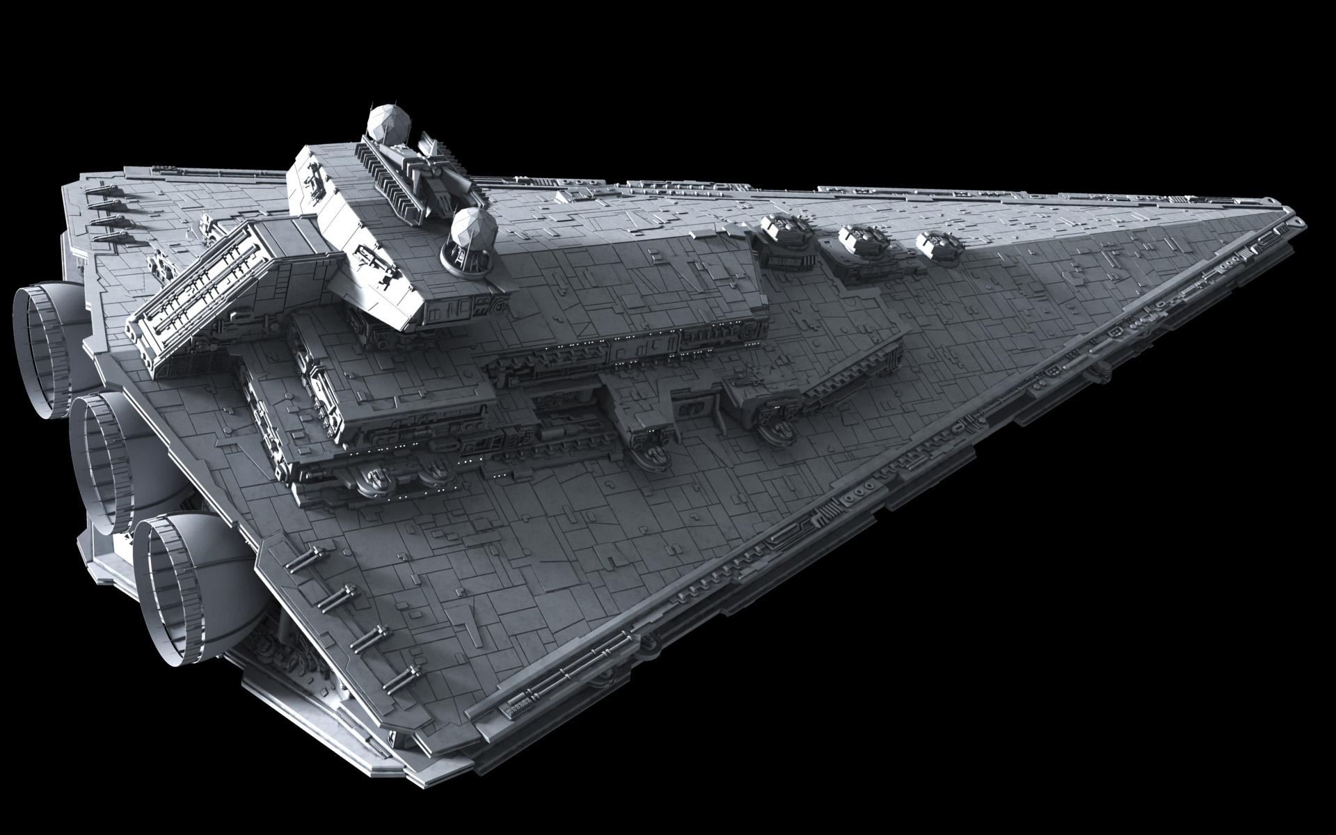 Procursator class star destroyer for 3d star net