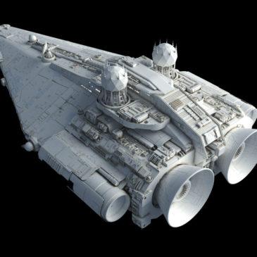 Fulgor-class pursuit frigate WIP#3