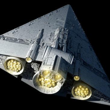 Praetor-class Star Battlecruiser 4k