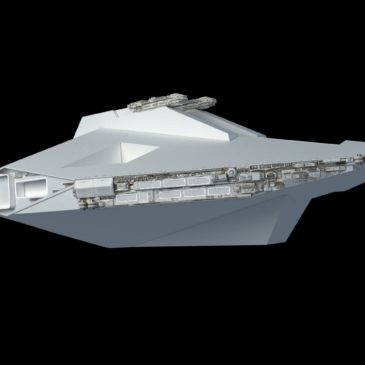 Evakmar Corps Landing Ship WIP#1