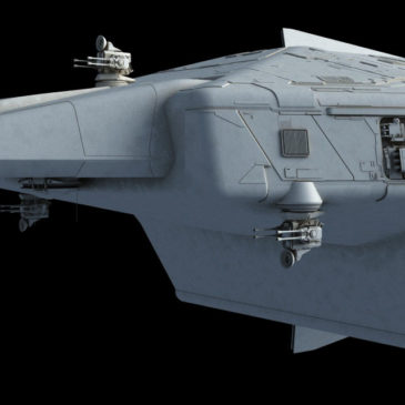 Heavy Dropship Concept WIP#5