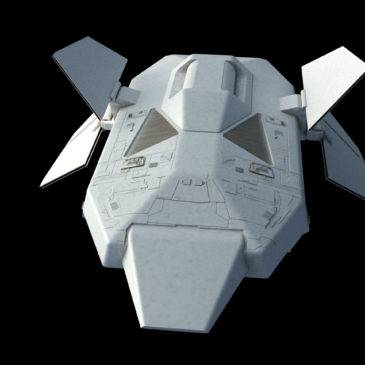 Heavy Dropship Concept WIP#4