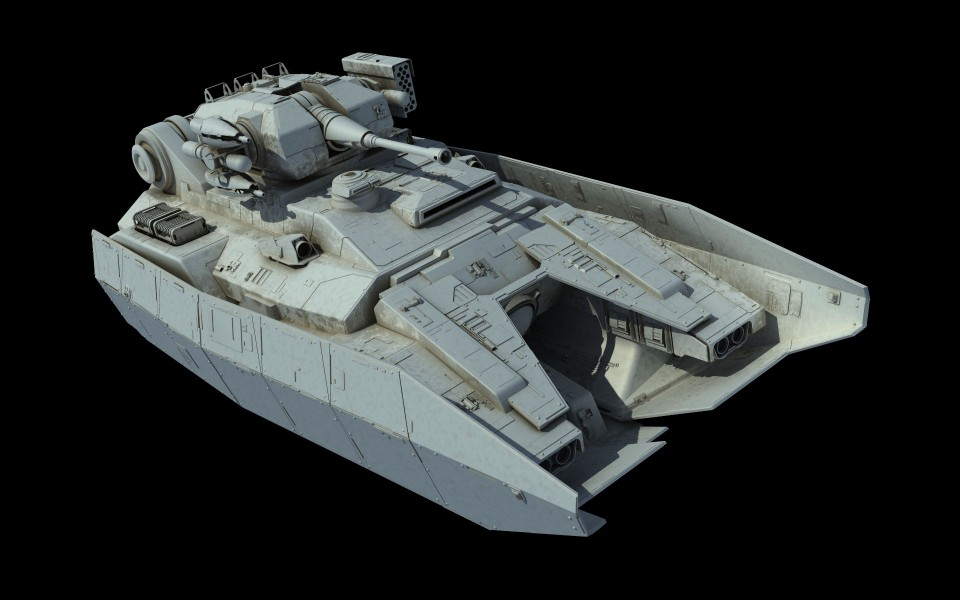MAVr A7 Broadsword-class Repulsortank