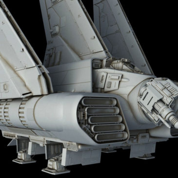 Escort Shuttle WIP#8