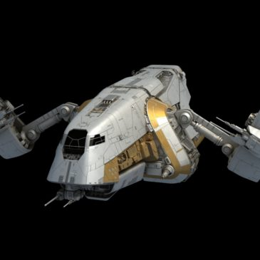 Preying Mantis Patrol Ship WIP #4