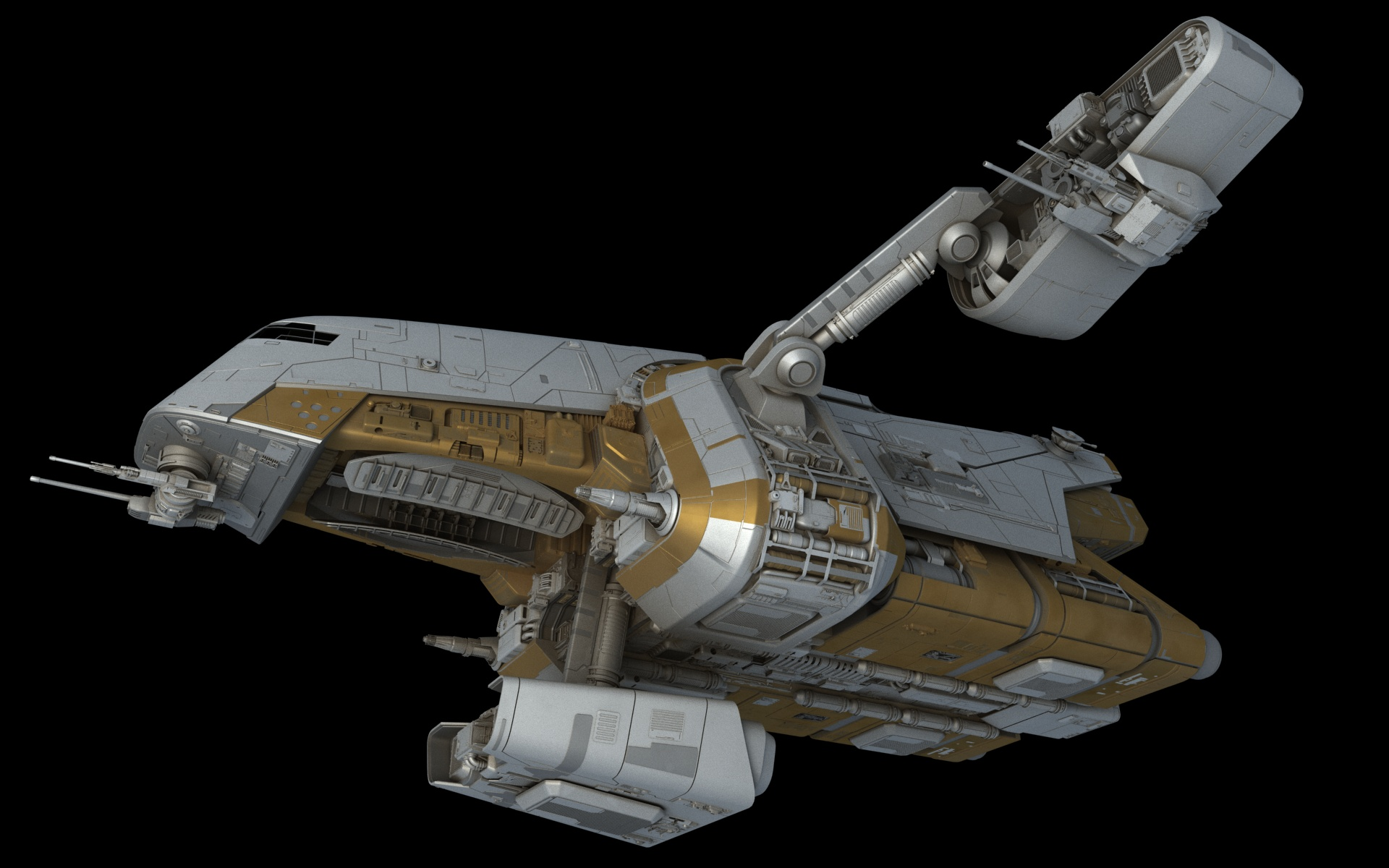 preying mantis patrol ship � fractalspongenet