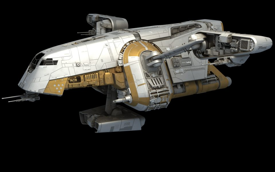 Preying Mantis Patrol Ship
