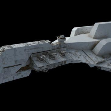 <em>Crusader</em>-class Corvette WIP#2