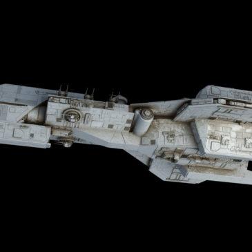 <em>Crusader</em>-class Corvette WIP#4