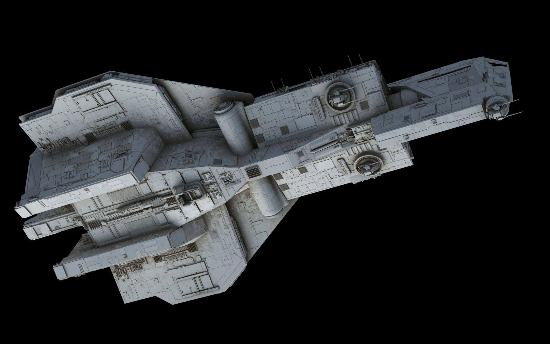 Crusader-class Corvette – Fractalsponge.net