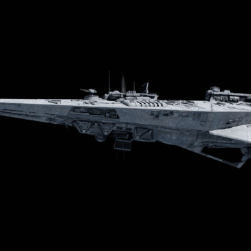 Indictor-class electronic warfare Star Corvette