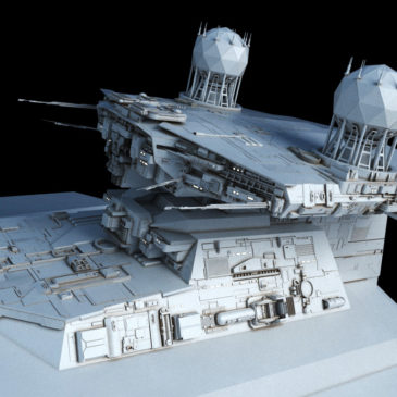 Victory-class Star Destroyer WIP#5