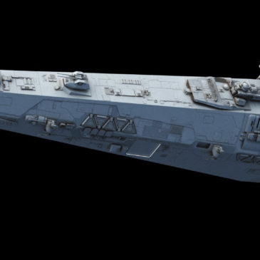Light Frigate WIP #3