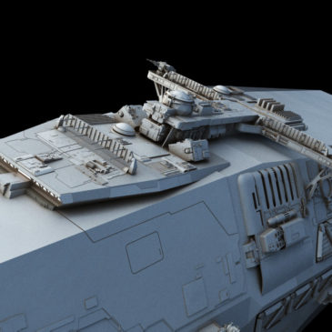 Light Frigate WIP #2