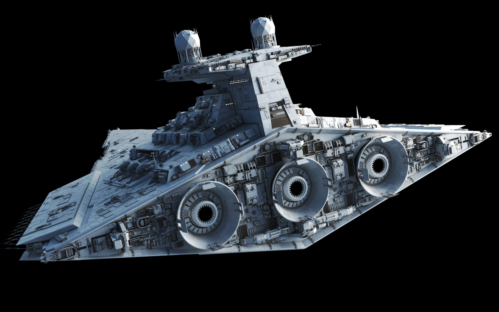 By Fractalsponge | Posted In: Capital Ship, Galactic Empire, Gallery, Star  Wars | 52