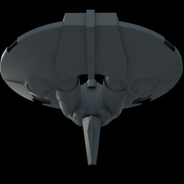 Inexpugnable-class Command Ship WIP#1