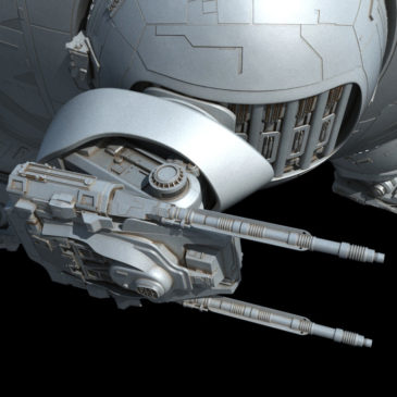 Inexpugnable-class Command Ship WIP#2