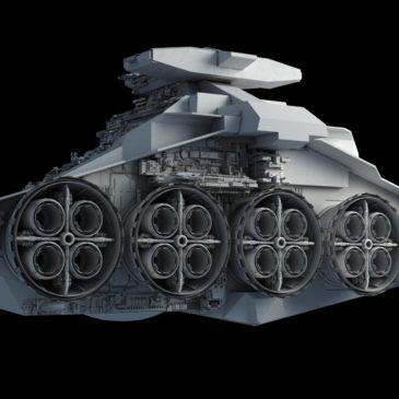 Star Battlecruiser WIP#7
