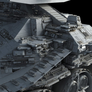 Star Battlecruiser WIP#8