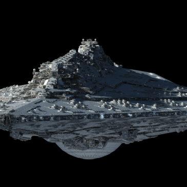 <em>Wrath</em> Star Dreadnought Lighting Test