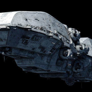 Dreadnaught-class Star Frigate 4k