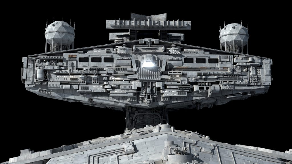 Imperial Star Destroyer Closeups – Fractalsponge.net
