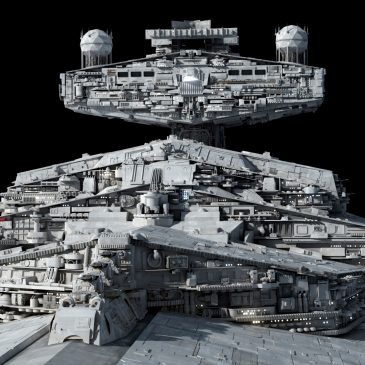 Imperial Star Destroyer Closeups