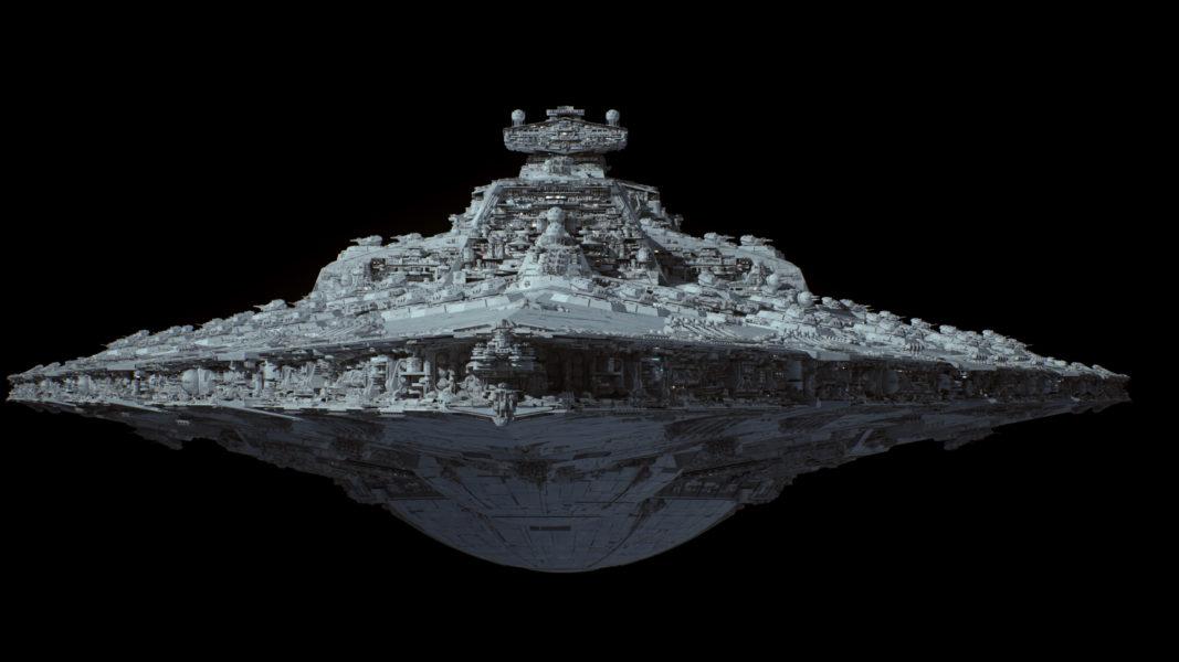 Fractalsponge net – 3D Scifi-Art