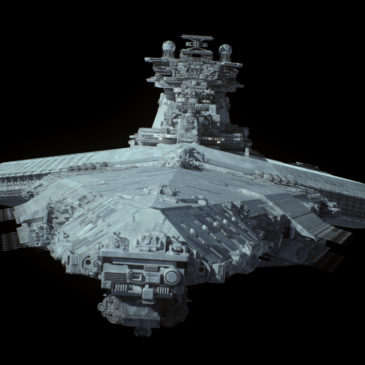 Tyrant missile cruiser WIP#3