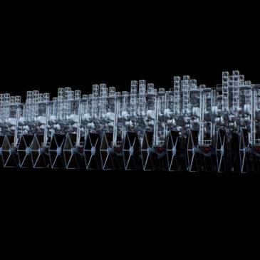 TIE hangar rack system WIP#3