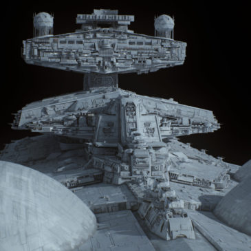 Interdictor Star Destroyer (Dominator) Redux WIP#2