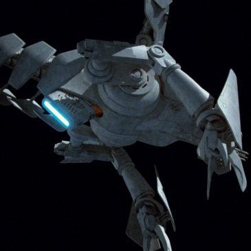 "Basilisk War ""Droid"" WIP#3"