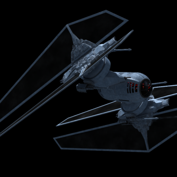 Turret fighter WIP#1