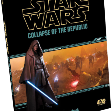 Fantasy Flight Games Collapse of the Republic cover art
