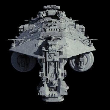 Contentor-class Fleet Replenishment Ship 4K