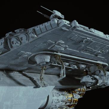 Storm Commando Ship WIP#5