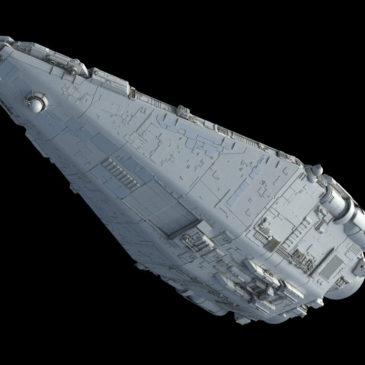 Fulgor-class pursuit frigate WIP#4