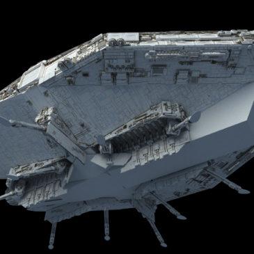 Evakmar Corps Landing Ship WIP#14