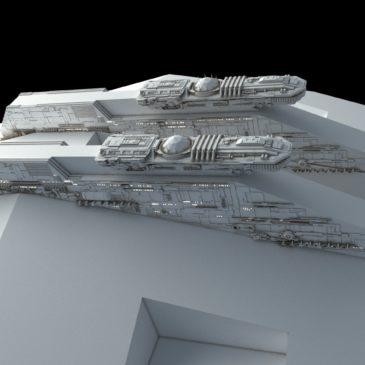 Evakmar Corps Landing Ship WIP#2