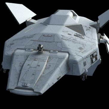 Heavy Dropship Concept WIP#6