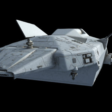 Heavy Dropship Concept WIP#7