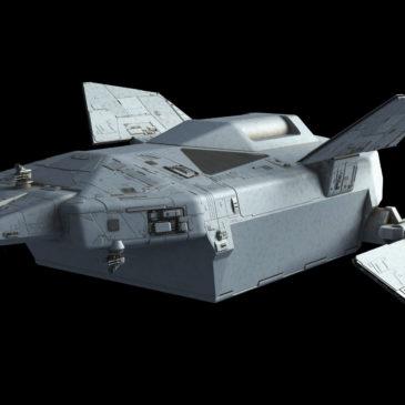 Heavy Dropship Concept WIP#8