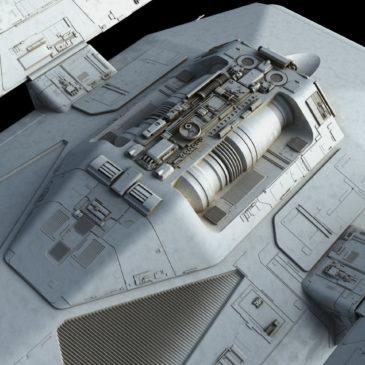 Heavy Dropship Concept WIP#9
