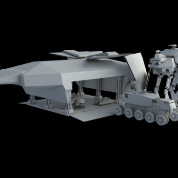 Heavy Dropship Concept WIP#1