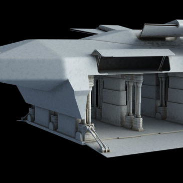 Heavy Dropship Concept WIP#2