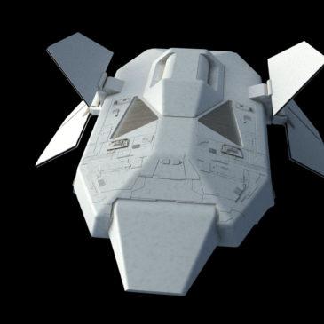 Heavy Dropship Concept WIP#4