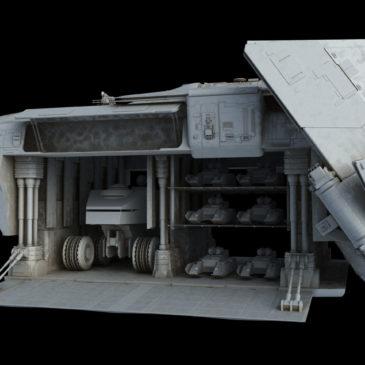 Heavy Dropship Concept WIP#15