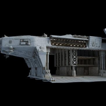 Heavy Dropship Concept WIP#16