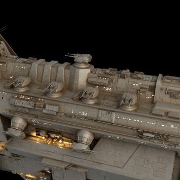 Kandosii-class Dreadnought WIP#2