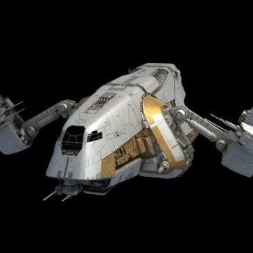 Preying Mantis Patrol Ship WIP #4